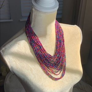 Unique & Beautiful Beaded Necklace!